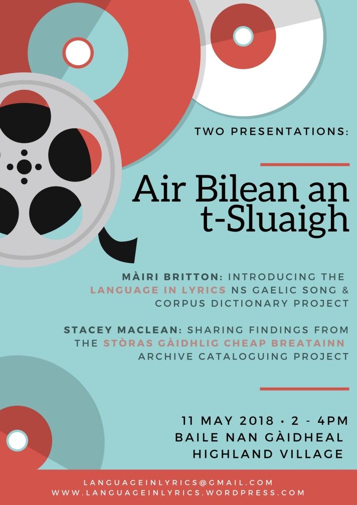 Air Bilean an t-Sluaigh poster (corrected) HV 11.05.18